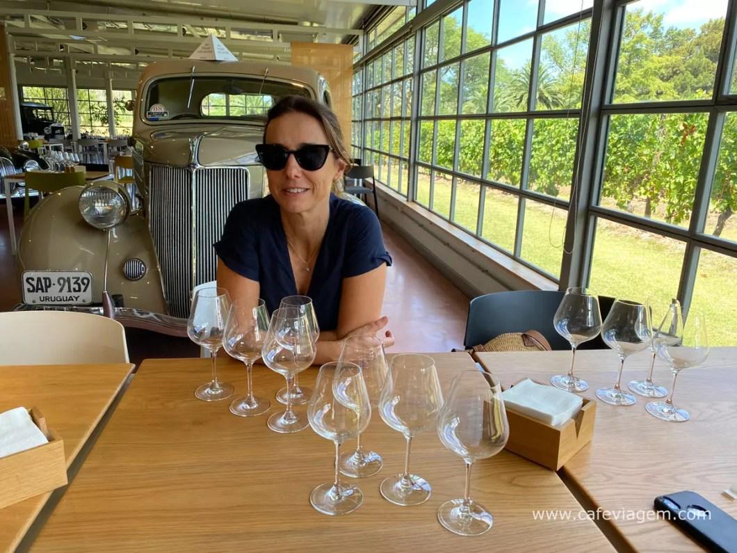 vinícola Bouza degustação