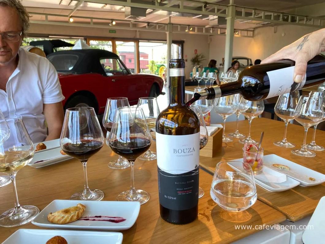 visita vinícola Bouza Uruguai