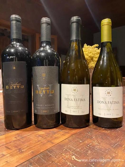vinhos Orgalindo Bettu