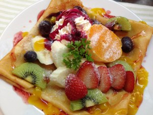 Fruits Special Crepe!