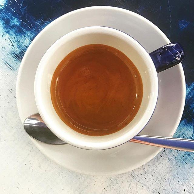 Espresso ritual ! @caffeberry