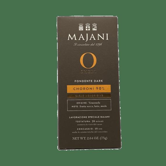 Fondente Choronì 90% Majani - Torrefazione Caffè Chicco D'Oro