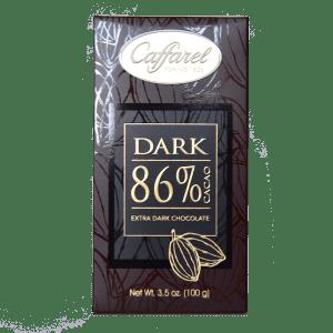 Torrefazione Caffè Chicco D'Oro | Tavoletta Cioccolato - Dark 86% Cacao - Caffarel