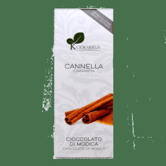Torrefazione Caffè Chicco D'Oro | Tavoletta Cioccolato Modica - Cannella - Ciokarrua