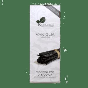 Torrefazione Caffè Chicco D'Oro | Tavoletta Cioccolato di Modica - Vaniglia - Ciokarrua
