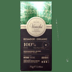 Torrefazione Caffè Chicco D'Oro | Tavoletta Di Cioccolato Fondente 100% Ecuador Bio - Venchi