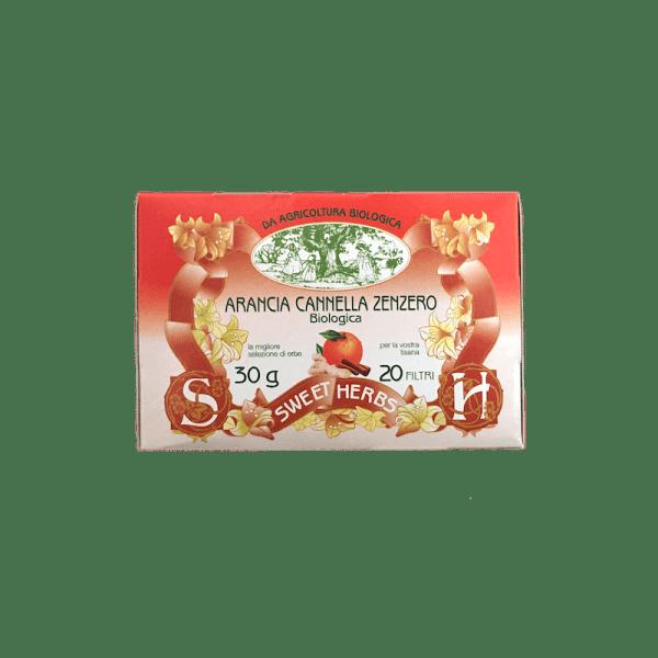 Caffè Torrefazione Chicco D'Oro | Brezzo Tisana Biologica Arancia Cannella Zenzero