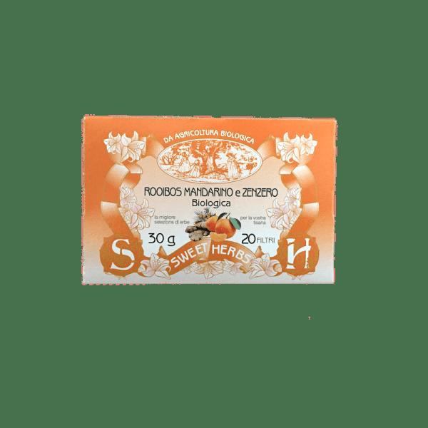 Caffè Torrefazione Chicco D'Oro | Brezzo Tisana Biologica Rooibos Mandarino Zenzero