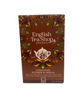 Chocolate Rooibos & Vanilla English Tea Shop _ Caffè Torrefazione Chicco D'Oro