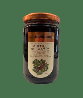 Confettura Extra Mirtilli Selvatici Agrimontana _ Caffè Torrefazione Chicco D'Oro