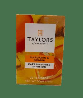Mandarin & Ginger Tea Taylors _ Caffè Torrefazione Chicco D'Oro