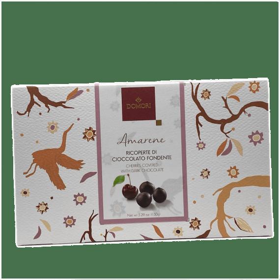 Amarene Ricoperte Di Cioccolato Fondente Domori - Torrefazione Caffè Chicco D'Oro