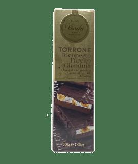 Torrone Ricoperto Farcito Gianduia Venchi - Torrefazione Caffè Chicco D'Oro