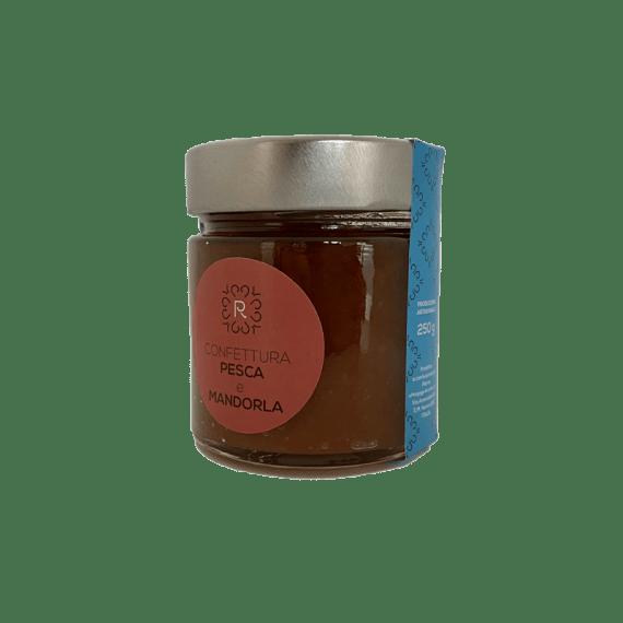 Confettura Pesca e Mandorla Pierre - Torrefazione Caffè Chicco D'Oro.png