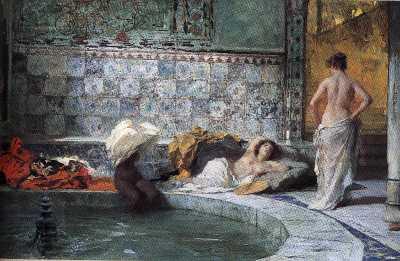 Dolce notte con amore ma vi - Il bagno turco dipinto ...