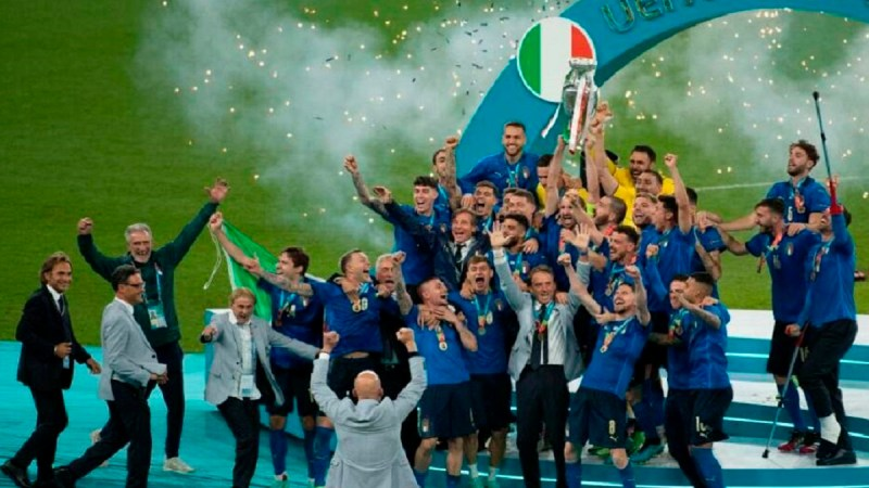 florenzi euro 2020 mamma medaglia