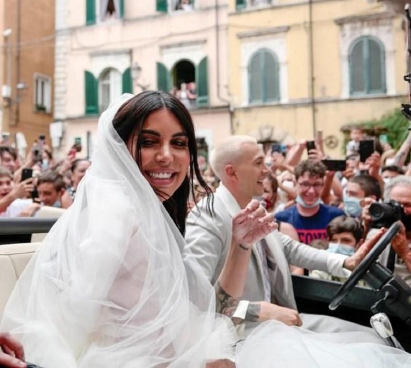 フェデリコ・ベルナルデスキ・ベロニカ・チャルディの結婚式の次女