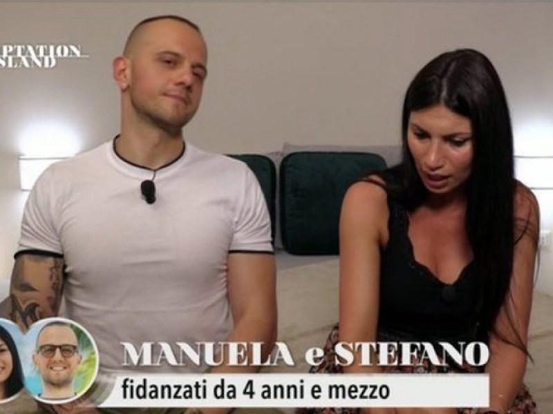 Temptation Island 2021, Manuela e i dettagli intimi su Stefano