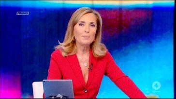 """""""La colpa è solo mia"""". Barbara Palombelli, le scuse in diretta dopo la pioggia di polemiche"""