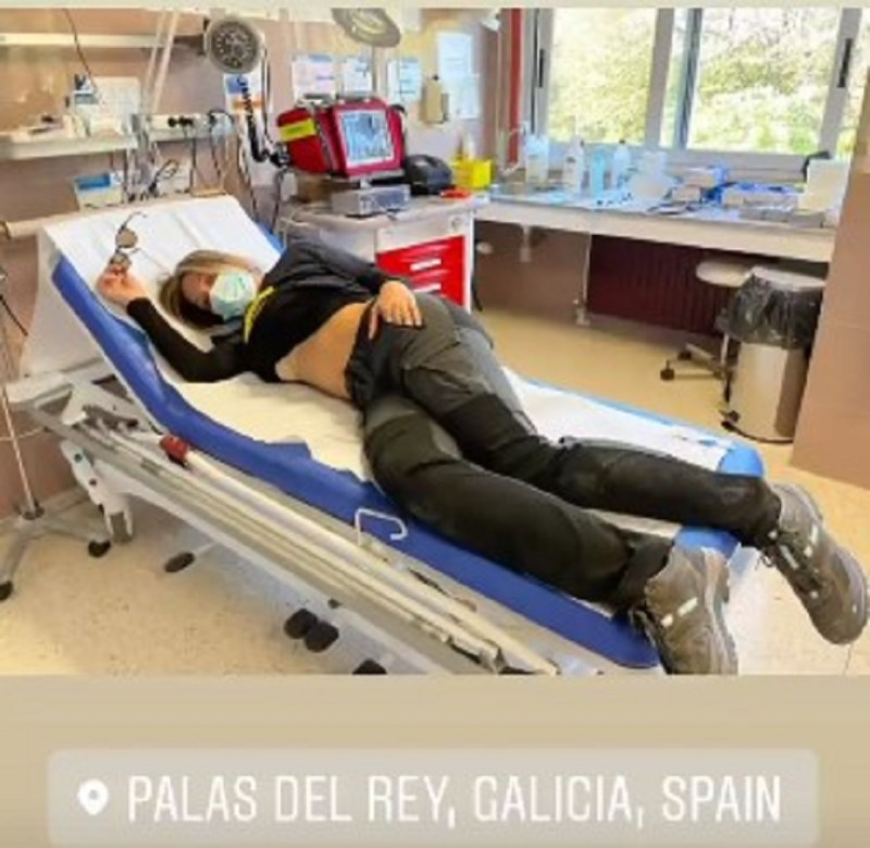グエンダゴリアカミノサンティアゴボーイフレンドミルコ病院写真