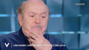 """""""Mia moglie me l'ha chiesto"""". Lino Banfi in lacrime per la sua adorata Lucia: """"Morire così…"""""""