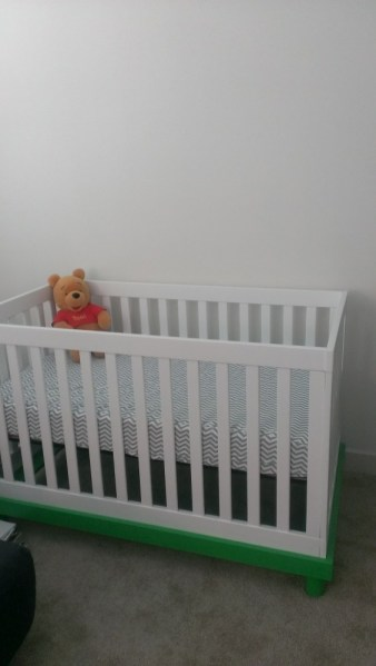 Day 8: Our Finished Crib!