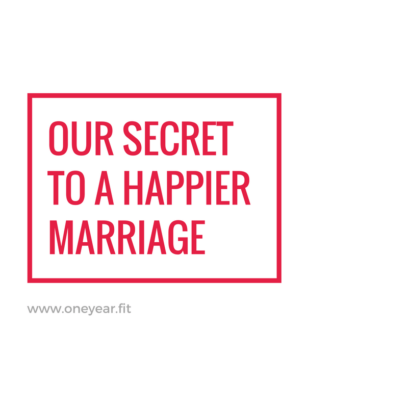 Our Secret to a Happy Marriage