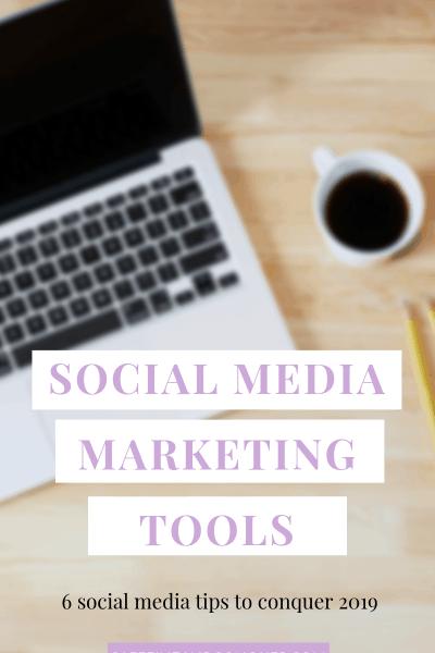 A pinnable image: Social Media Marketing Tools