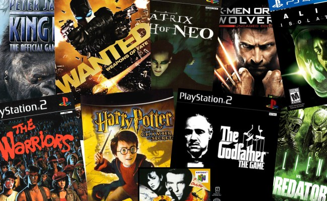 10 Video Games Based On Movies That Are Surprisingly Good