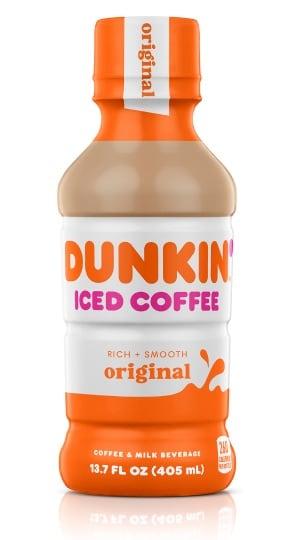 Caffeine in Bottled Iced Coffee Dunkin Donuts