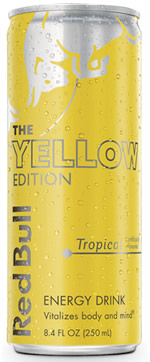 Caffeine in Red Bull Yellow Edition