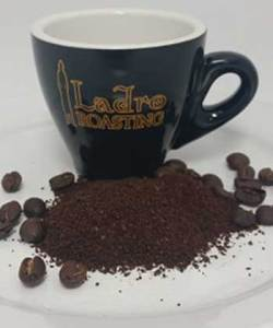 Example of Medium Fine Ground Coffee to help you Choose your Coffee grind
