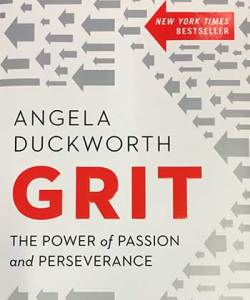 GRit by Angela Duckworth is a Ladro Book Club selection