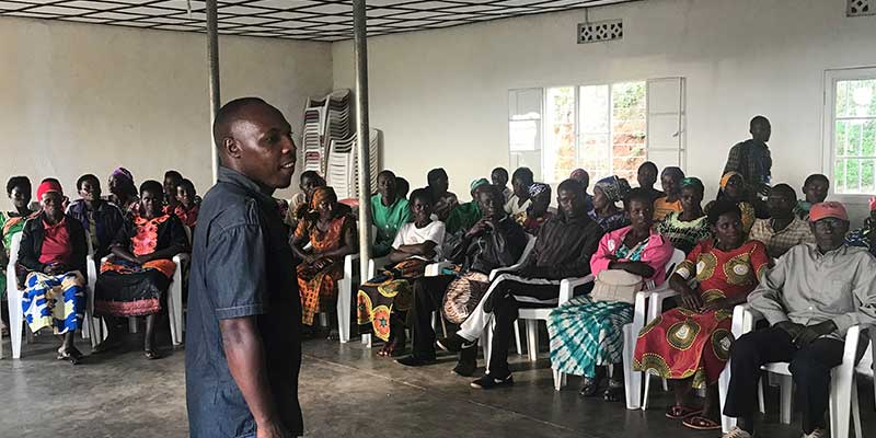 2017 Africa Coffee Buying Trip members of Kopakoma cooperative