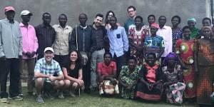 2017 Africa coffee buying trip kopakoma members and Jack Kelly