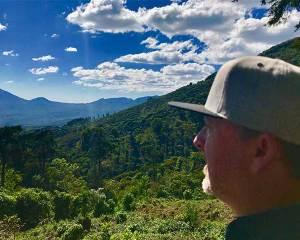 Jack Kelly at Talnamica Farm, El Salvador