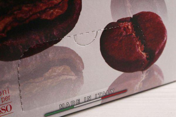 Finestra dispenser confezione caffè in cialde e caffè in capsule compatibili - Caffè Orlando