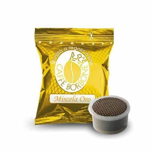 100 Capsule Borbone Miscela Oro Compatibili con Lavazza Espresso Point