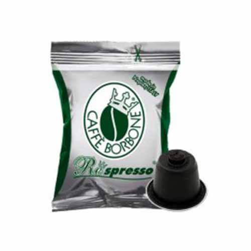 100 Capsule Borbone Respresso Miscela Blu Compatibili con Nespresso