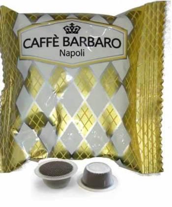 100 Capsule Caffè Barbaro Compatibili con Bialetti