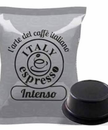 100 Capsule Italy Espresso Intenso Compatibili con Lavazza A Modo mio