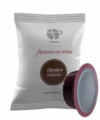 100 Capsule Lollo Caffè Classico Espresso Compatibili con Lavazza A Modo Mio