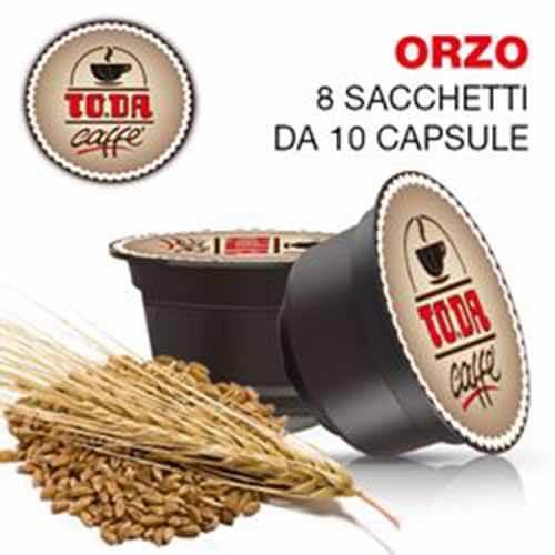 80 Capsule ToDa Caffè Gattopardo Orzo Compatibili con Nescafé Dolce Gusto
