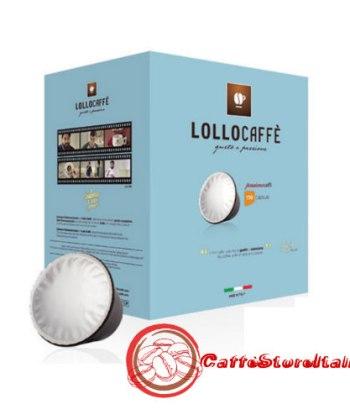100 Capsule Lollo Caffe Miscela Nera Compatibili Caffitaly