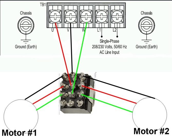 1 vfd 2 motors