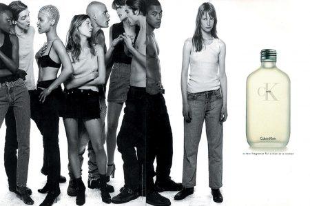 Calvin Klein ck1 degli anni '90