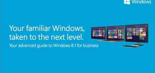 Cover der Microsoft Einführung zu Windows 8.1 für kleinere Unternehmen