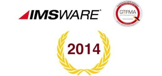 Erster! IMSware ist als erste CAFM-Software vollständig nach der aktuellen Fassung der Gefma 444 zertifiziert