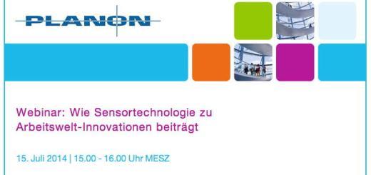 """Im Juli gibt es bei Planon ein Webinar zum Thema """"Wie Sensortechnologie zu Arbeitswelt-Innovationen beiträgt"""""""