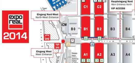 Sechs Hallen zur Auswahl: Die CAFM-News sagen, wo die CAFM-Hersteller auf der Expo Real zu finden sind